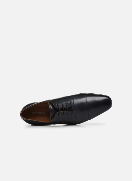 Zapatos con cordones Redskins Better Azul vista lateral izquierda