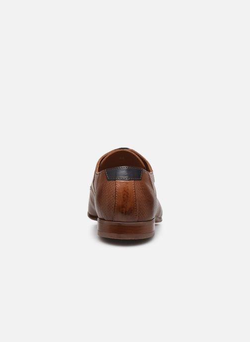 Zapatos con cordones Redskins Better Marrón vista lateral derecha