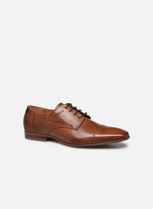 Zapatos con cordones Redskins Better Marrón vista de detalle / par