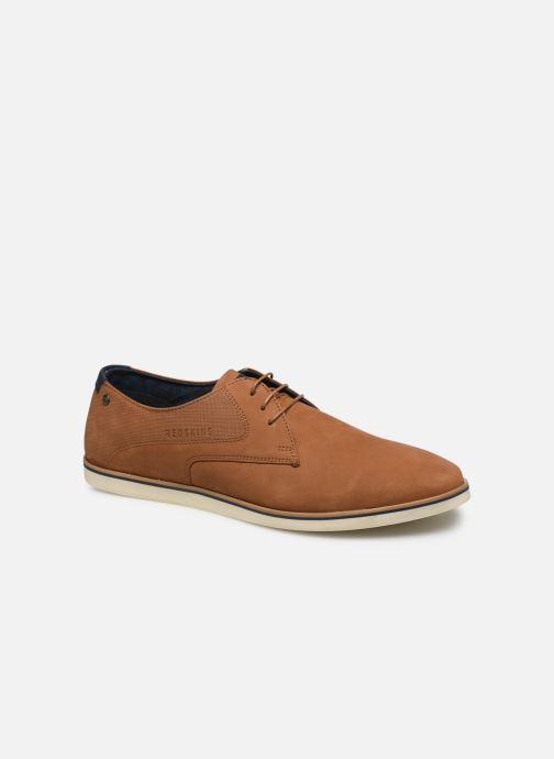 Chaussures à lacets Redskins Ismael Marron vue détail/paire
