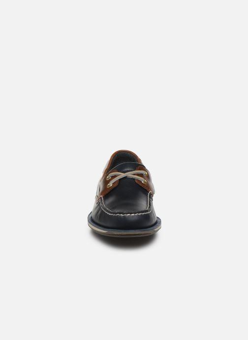 Zapatos con cordones Rockport Ports Of Call C Azul vista del modelo