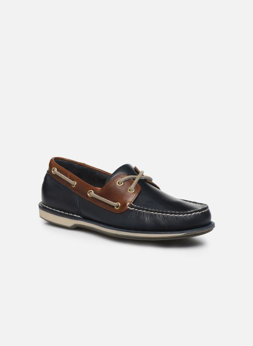 Zapatos con cordones Rockport Ports Of Call C Azul vista de detalle / par