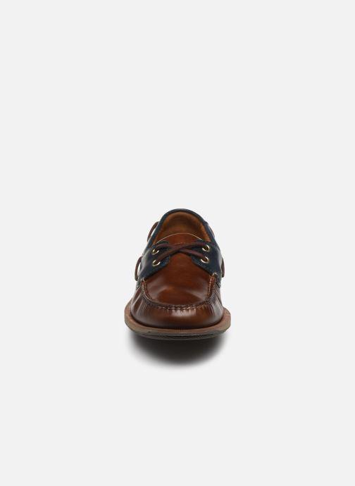 Zapatos con cordones Rockport Ports Of Call C Marrón vista del modelo