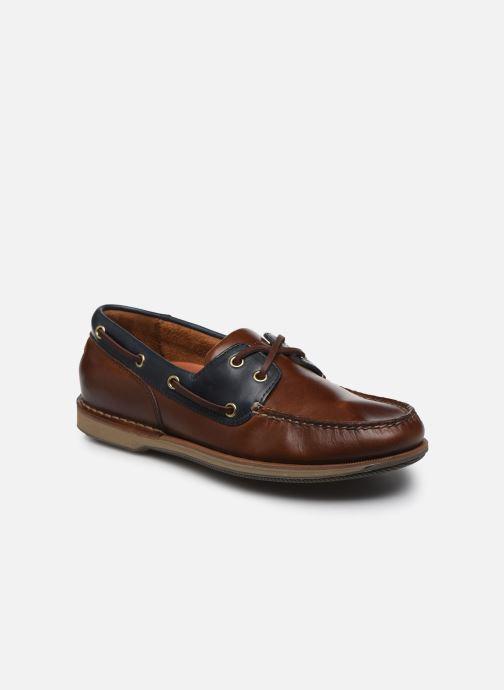 Zapatos con cordones Rockport Ports Of Call C Marrón vista de detalle / par