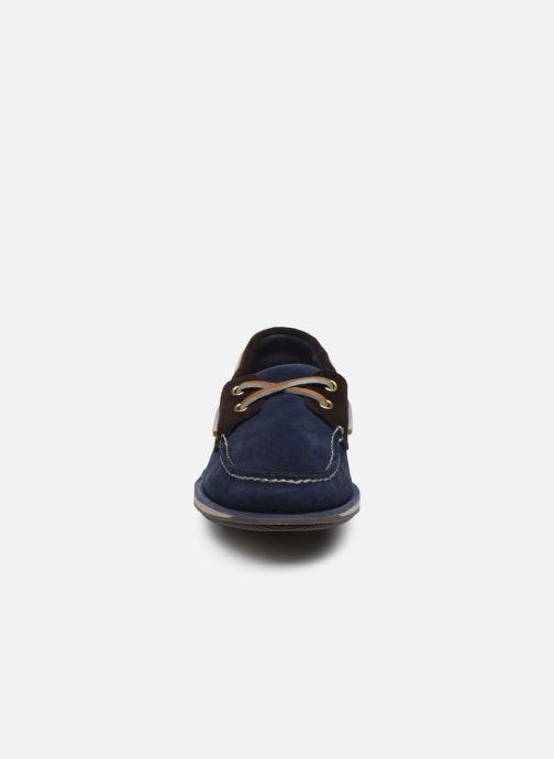 Chaussures à lacets Rockport Ports Of Call C Bleu vue portées chaussures