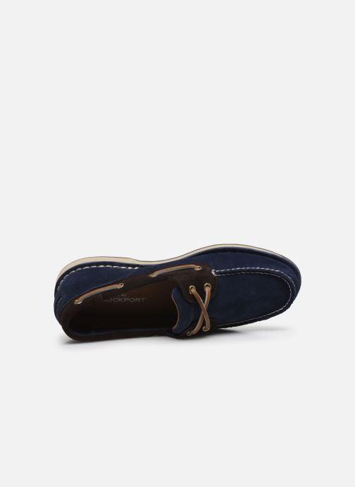 Chaussures à lacets Rockport Ports Of Call C Bleu vue gauche