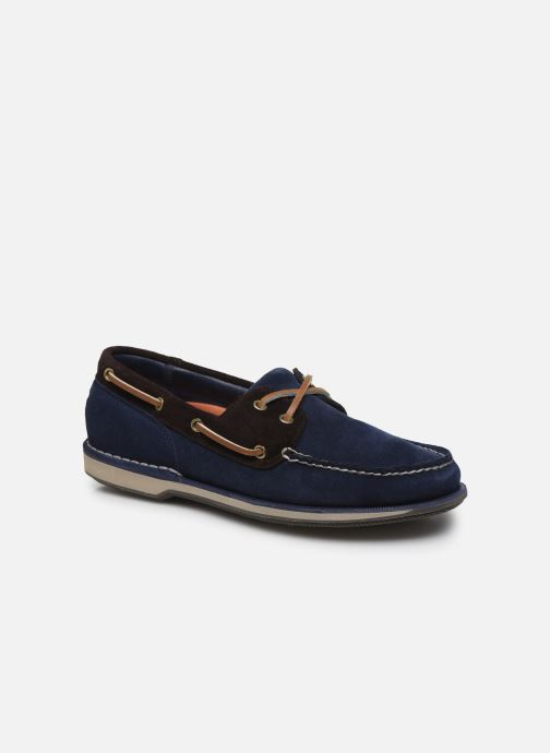 Chaussures à lacets Rockport Ports Of Call C Bleu vue détail/paire