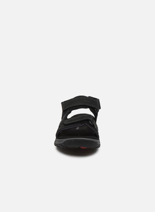 Sandales et nu-pieds Rockport Trail Technique Sandal C Noir vue portées chaussures