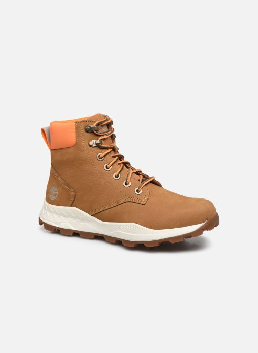 "Bottines et boots Timberland Brooklyn 6"" Boot Marron vue détail/paire"
