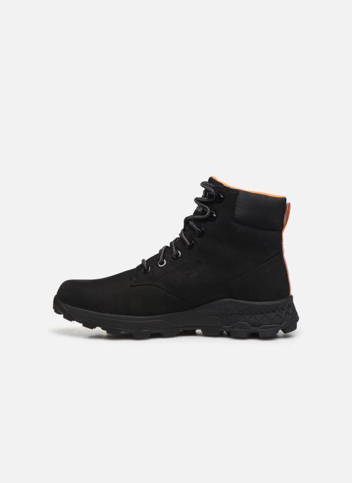 """Bottines et boots Timberland Brooklyn 6"""" Boot Noir vue face"""