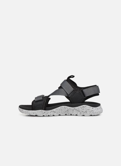 Sandali e scarpe aperte Timberland Ripcord 2 Strap Sandal Nero immagine frontale