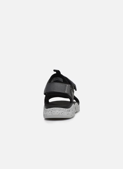 Sandali e scarpe aperte Timberland Ripcord 2 Strap Sandal Nero immagine destra