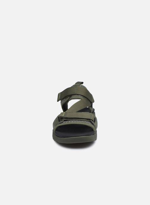 Sandalen Timberland Ripcord 2 Strap Sandal grün schuhe getragen