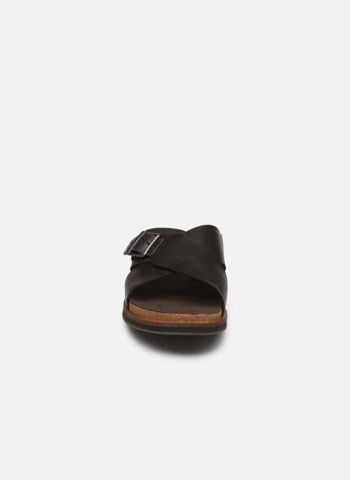 Sandales et nu-pieds Timberland Amalfi Vibes Cross Slide Marron vue portées chaussures