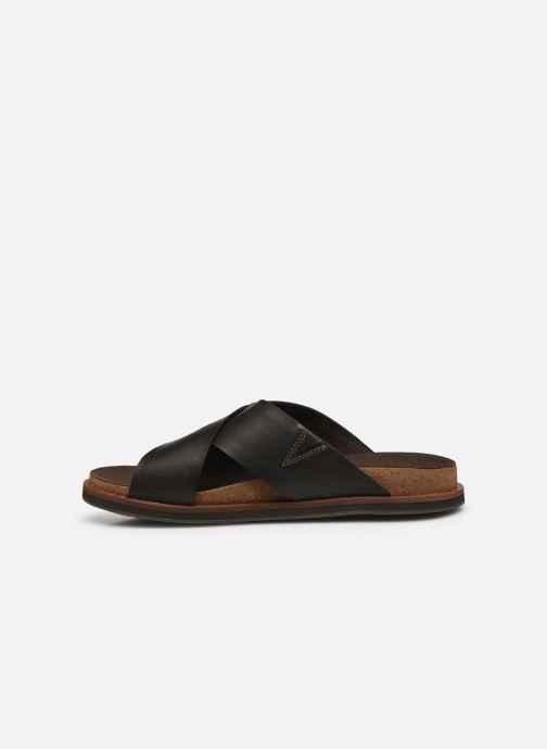 Sandales et nu-pieds Timberland Amalfi Vibes Cross Slide Marron vue face