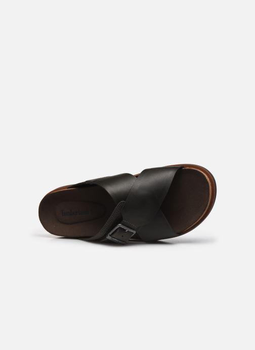 Sandales et nu-pieds Timberland Amalfi Vibes Cross Slide Marron vue gauche