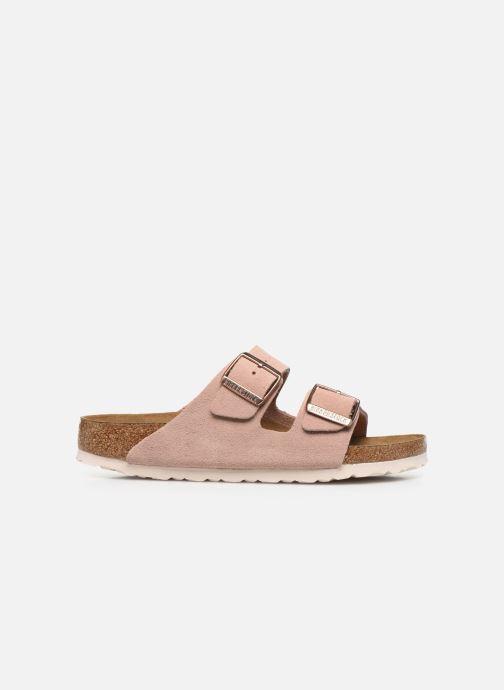 Mules et sabots Birkenstock Arizona Sfb Cuir W Rose vue portées chaussures