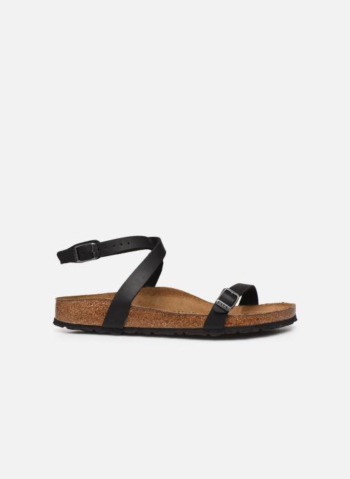 Sandales et nu-pieds Birkenstock Daloa Flor W Noir vue derrière