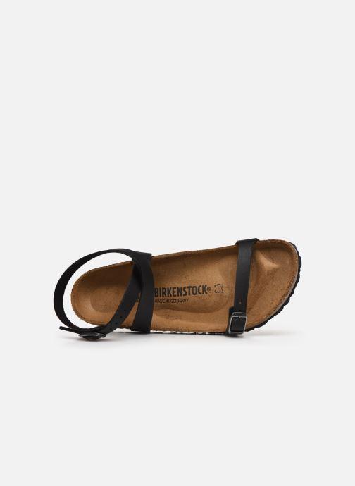Sandales et nu-pieds Birkenstock Daloa Flor W Noir vue gauche