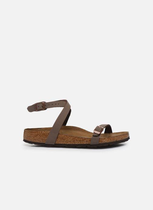 Sandali e scarpe aperte Birkenstock Daloa Flor W Marrone immagine posteriore