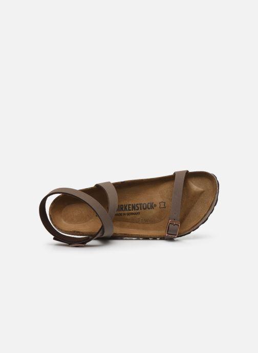 Sandali e scarpe aperte Birkenstock Daloa Flor W Marrone immagine sinistra