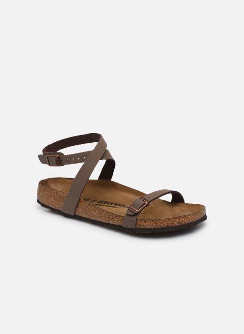 Sandali e scarpe aperte Birkenstock Daloa Flor W Marrone vedi dettaglio/paio