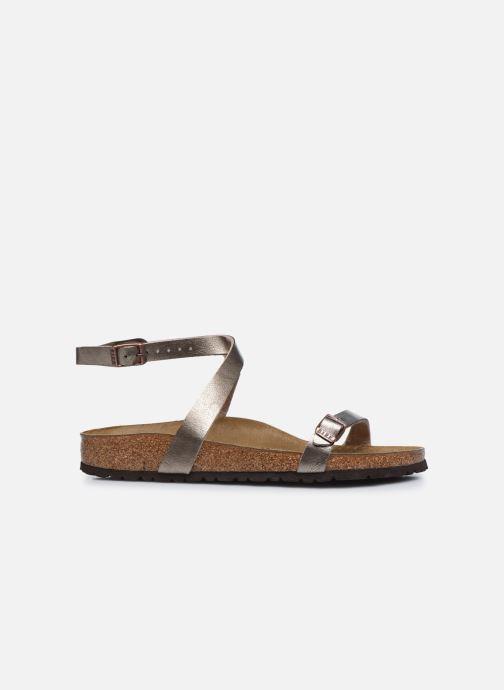 Sandales et nu-pieds Birkenstock Daloa Flor W Beige vue derrière