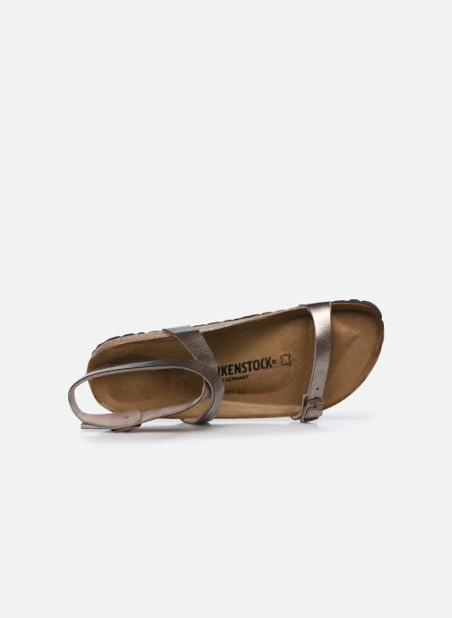 Sandales et nu-pieds Birkenstock Daloa Flor W Beige vue gauche