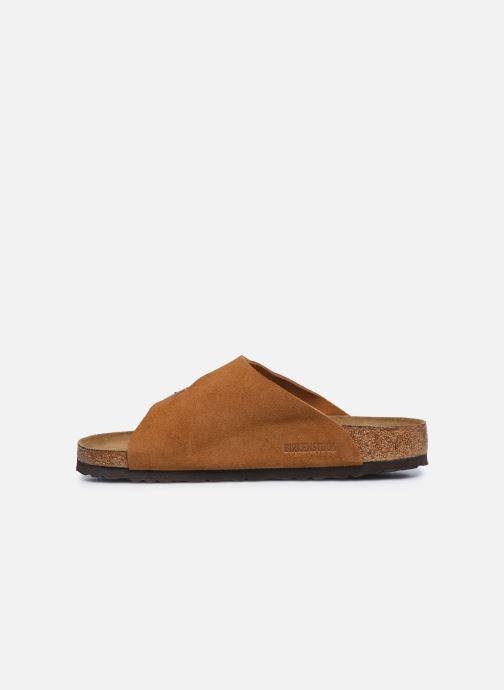 Sandales et nu-pieds Birkenstock Zurich Sfb Cuir M Marron vue face