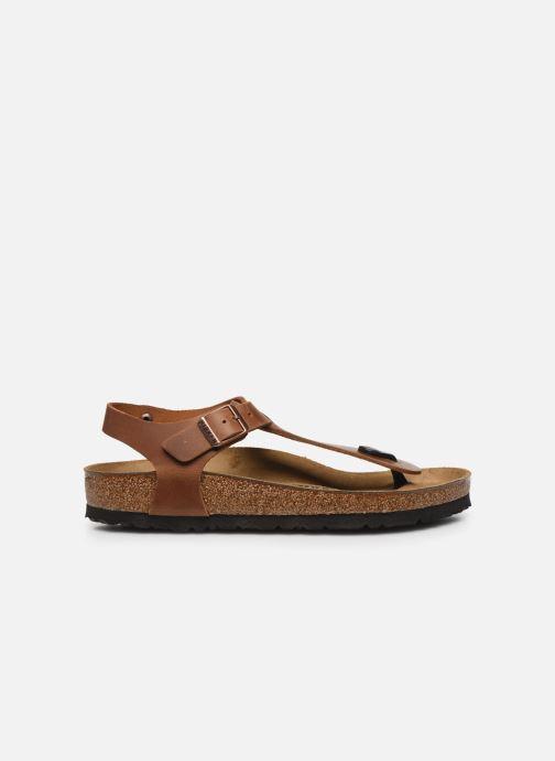 Sandales et nu-pieds Birkenstock Kairo Cuir W Marron vue derrière