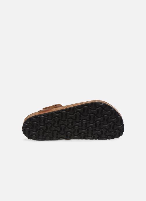 Sandales et nu-pieds Birkenstock Kairo Cuir W Marron vue haut