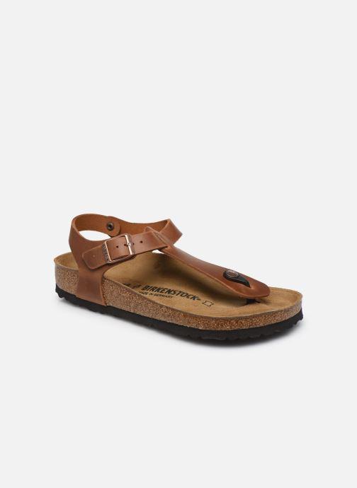 Sandales et nu-pieds Birkenstock Kairo Cuir W Marron vue détail/paire