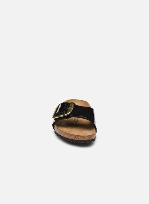 Clogs & Pantoletten Birkenstock Madrid Big Buckle Flor W schwarz schuhe getragen