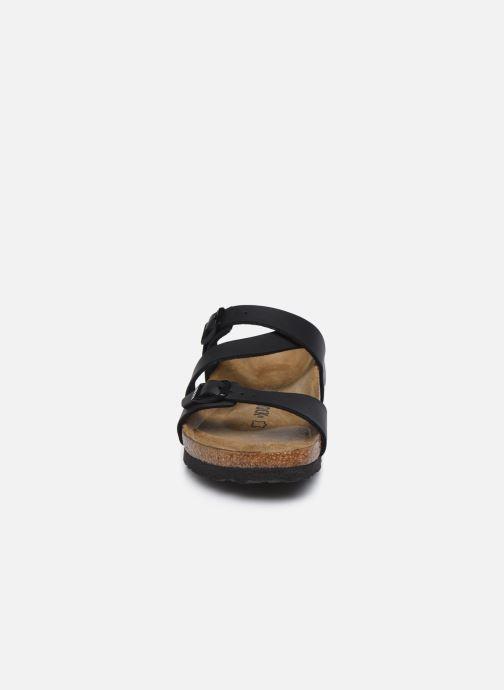 Mules et sabots Birkenstock Salina Flor W Noir vue portées chaussures
