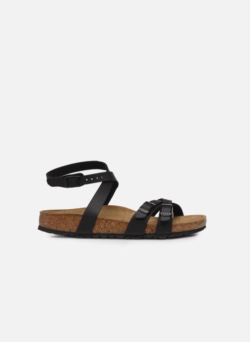 Sandales et nu-pieds Birkenstock Blanca Flor W Noir vue derrière