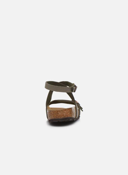 Sandales et nu-pieds Birkenstock Blanca Flor W Gris vue droite