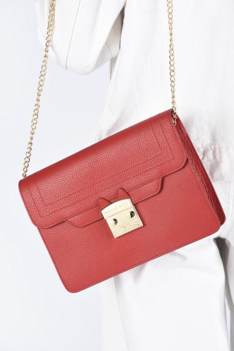 Handtaschen Paul & Joe Sister GAMAROV rot ansicht von unten / tasche getragen