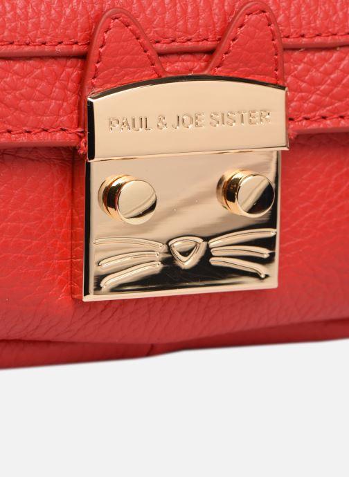 Handtaschen Paul & Joe Sister CANTIN rot ansicht von links