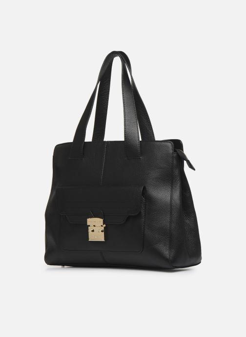 Handtaschen Paul & Joe Sister CALVINA schwarz schuhe getragen