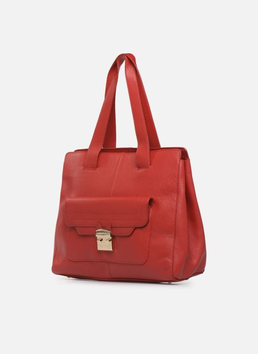 Handtaschen Paul & Joe Sister CALVINA rot schuhe getragen