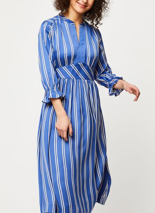 Vêtements Accessoires Midi length dress with fitted waist