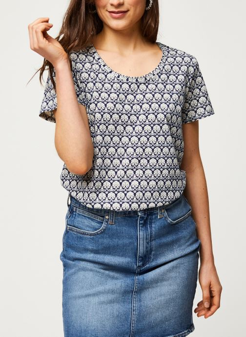 Printed boxy fit tee