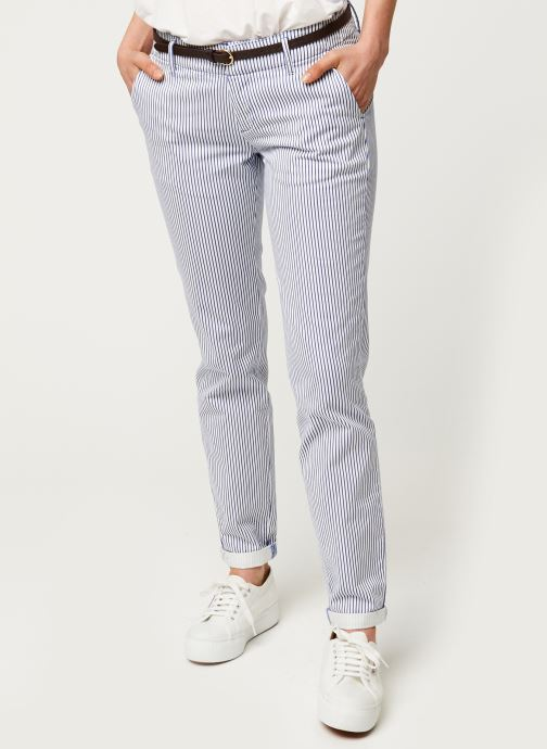 Pantalon chino - Slim fit chino, sold with belt