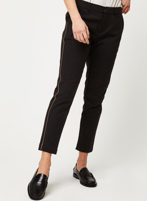 Pantalon - Tailored stretch with piping details