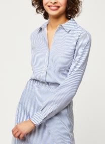 Kleding Accessoires Striped oversized shirt in lyocell quality