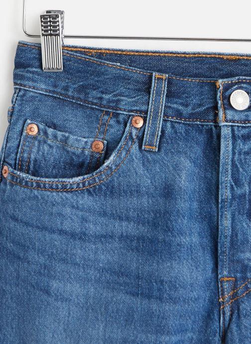 Vêtements Levi's 501® Short Long Bleu vue portées chaussures