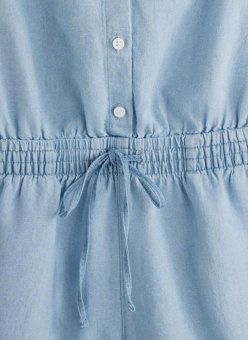 Vêtements Levi's Amelia Romper Bleu vue portées chaussures