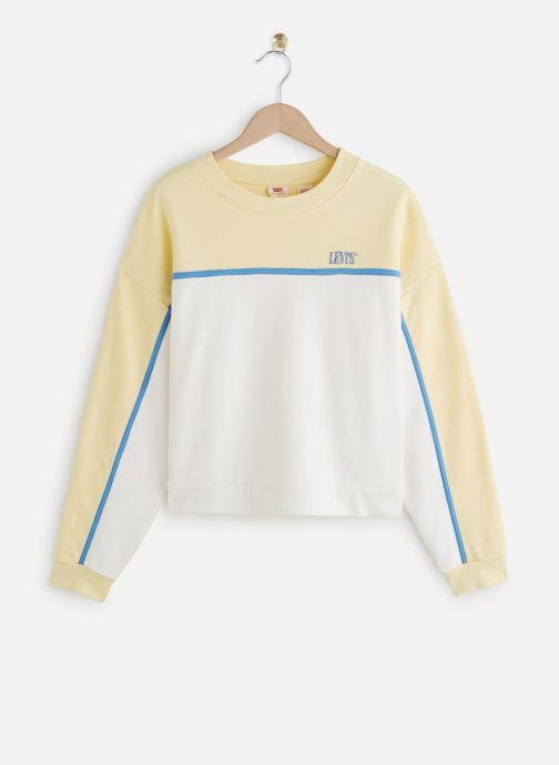 Vêtements Levi's Celeste Sweatshirt Jaune vue détail/paire