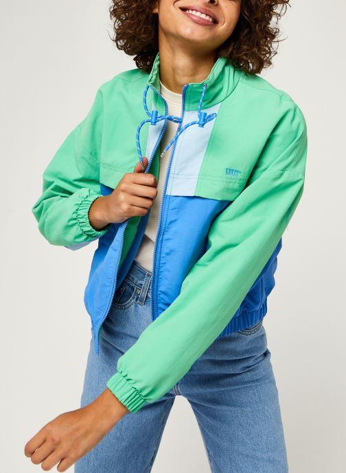Levi's Celeste Windbreaker (Vert) Vêtements chez Sarenza