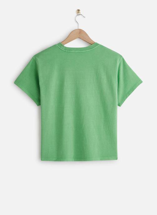 Vêtements Levi's Graphic Varsity Tee Vert vue bas / vue portée sac